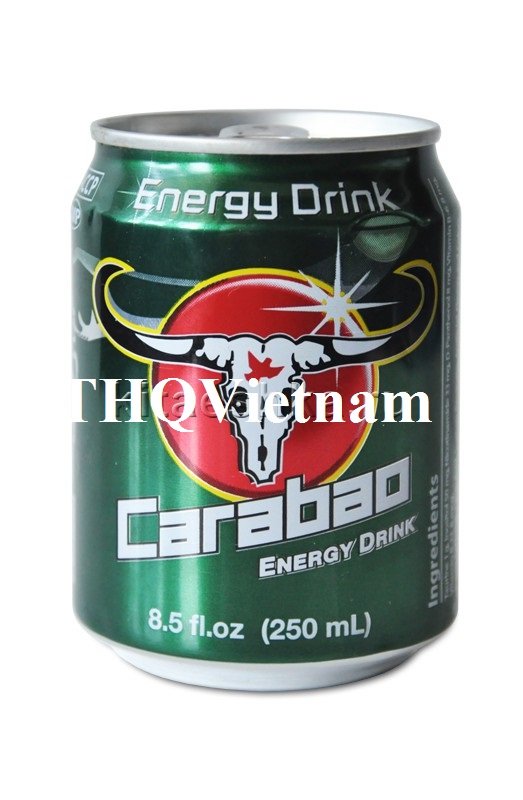 [THQ VIETNAM] CARABAO ENERGY DRINK 250ML*24CANS