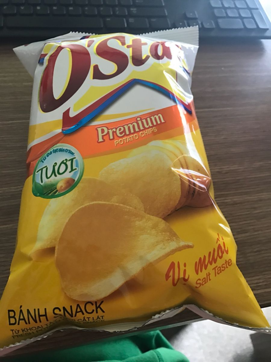 O'STAR POTATO CHIPS 90g
