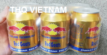 [THQ VIETNAM] Red Goats - Energy drink 250ml*24cans