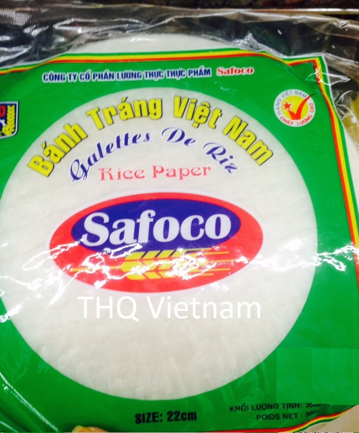 {THQ VIETNAM} Safoco Round Rice Paper 300gr x 20packs