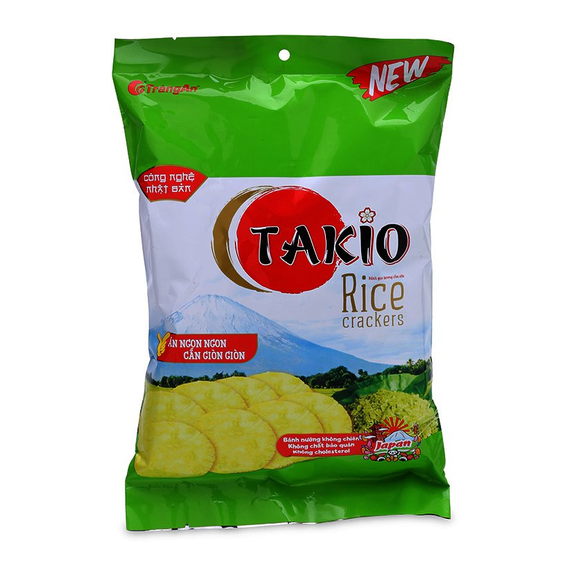 RICE CRACKER TAKIO GREEN RICE