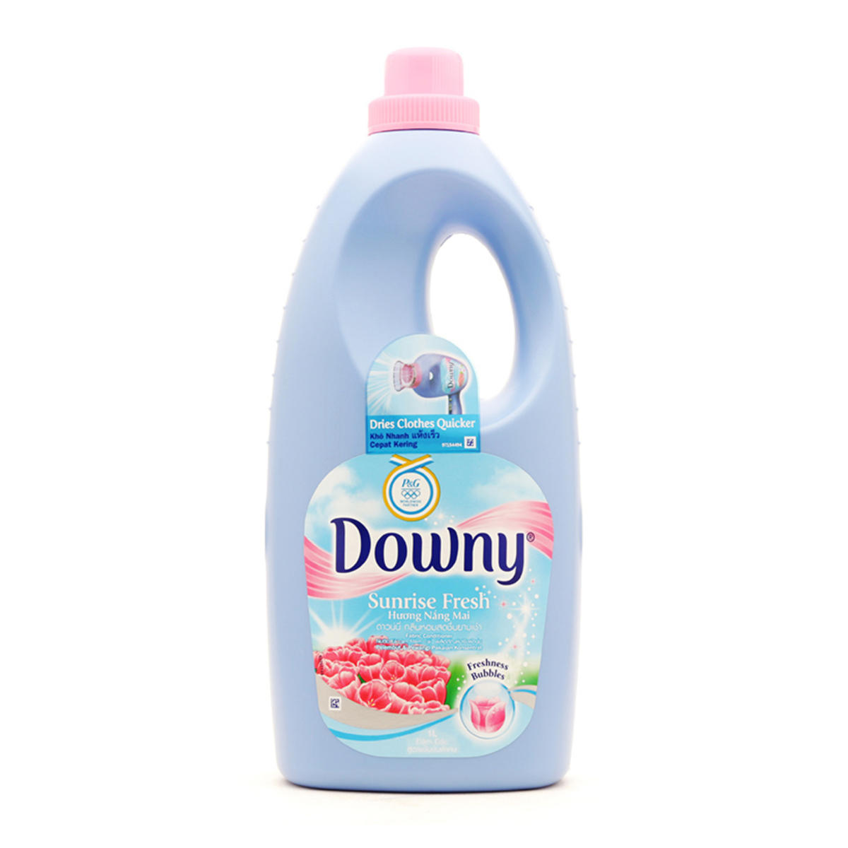 DOWNY FRESH SUNSHINE FABRIC SOFTENER 1L X 12 BTLS