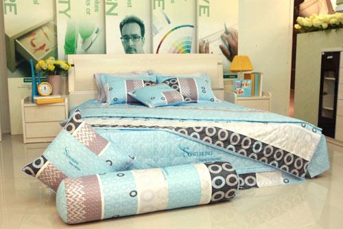 100 Cotton High Quality Bedding Set Drap Blanket