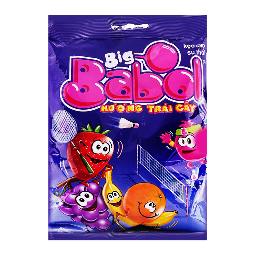 [THQ VIETNAM] BIG BABOL FRUIT GUM
