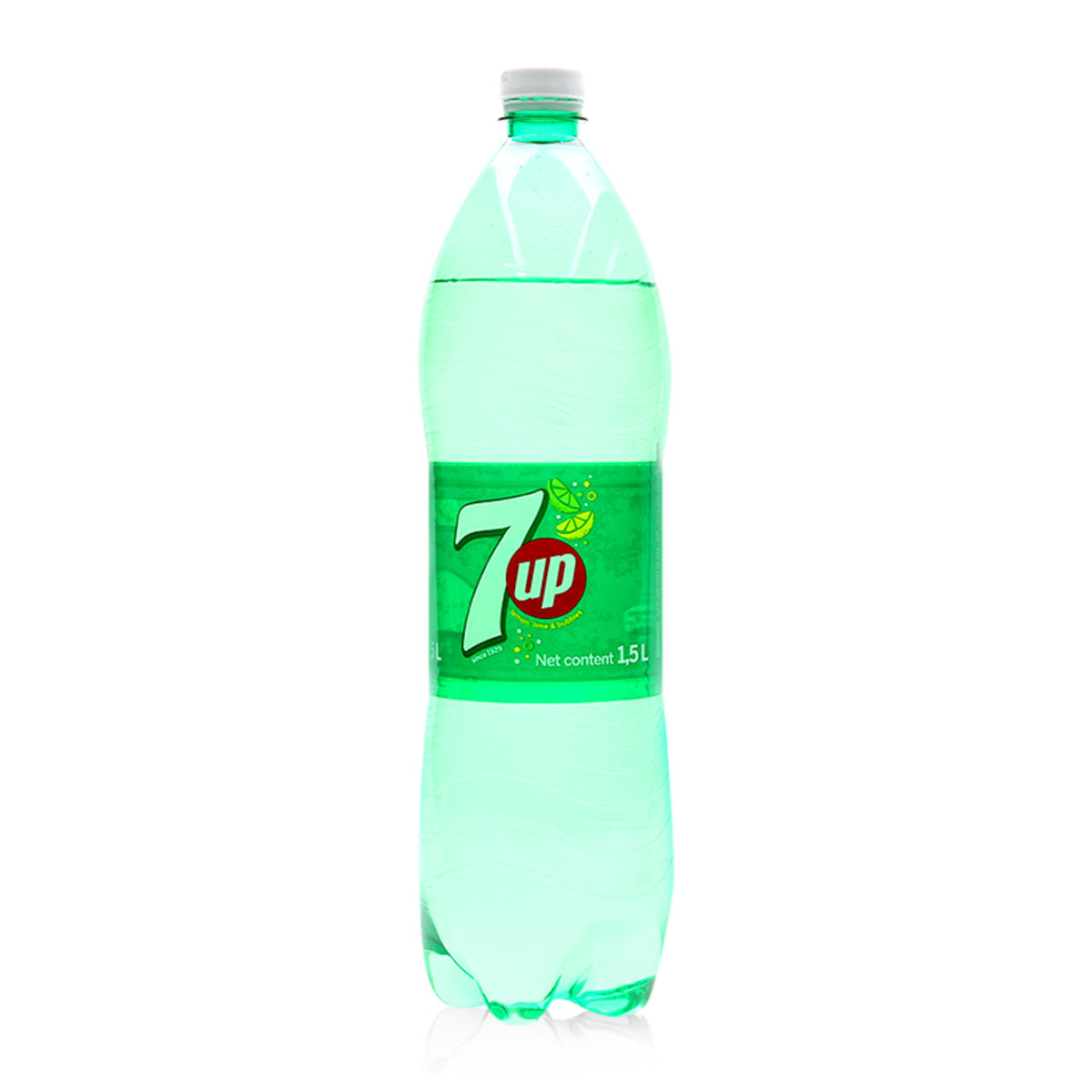 [THQ VIETNAM] 7 UP LIME SOFT DRINK PET 1.5L X 12 BTLS