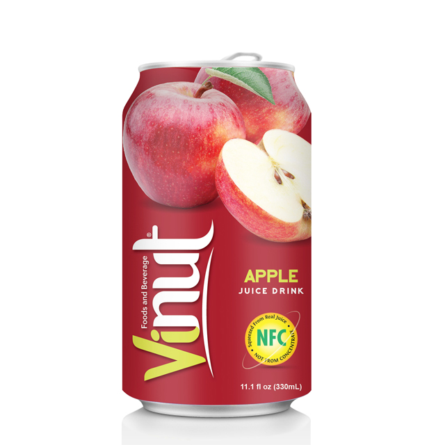 VINUT Juice can 330ml x 24 cans