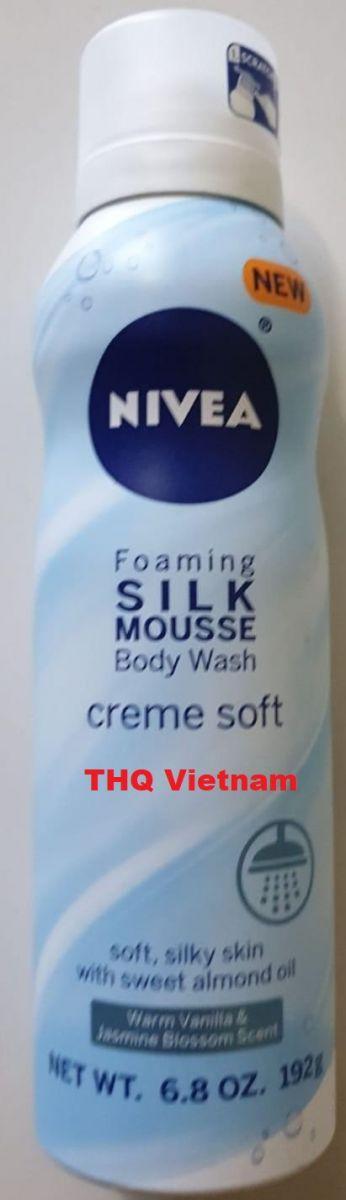 Nivea Foaming Body Wash