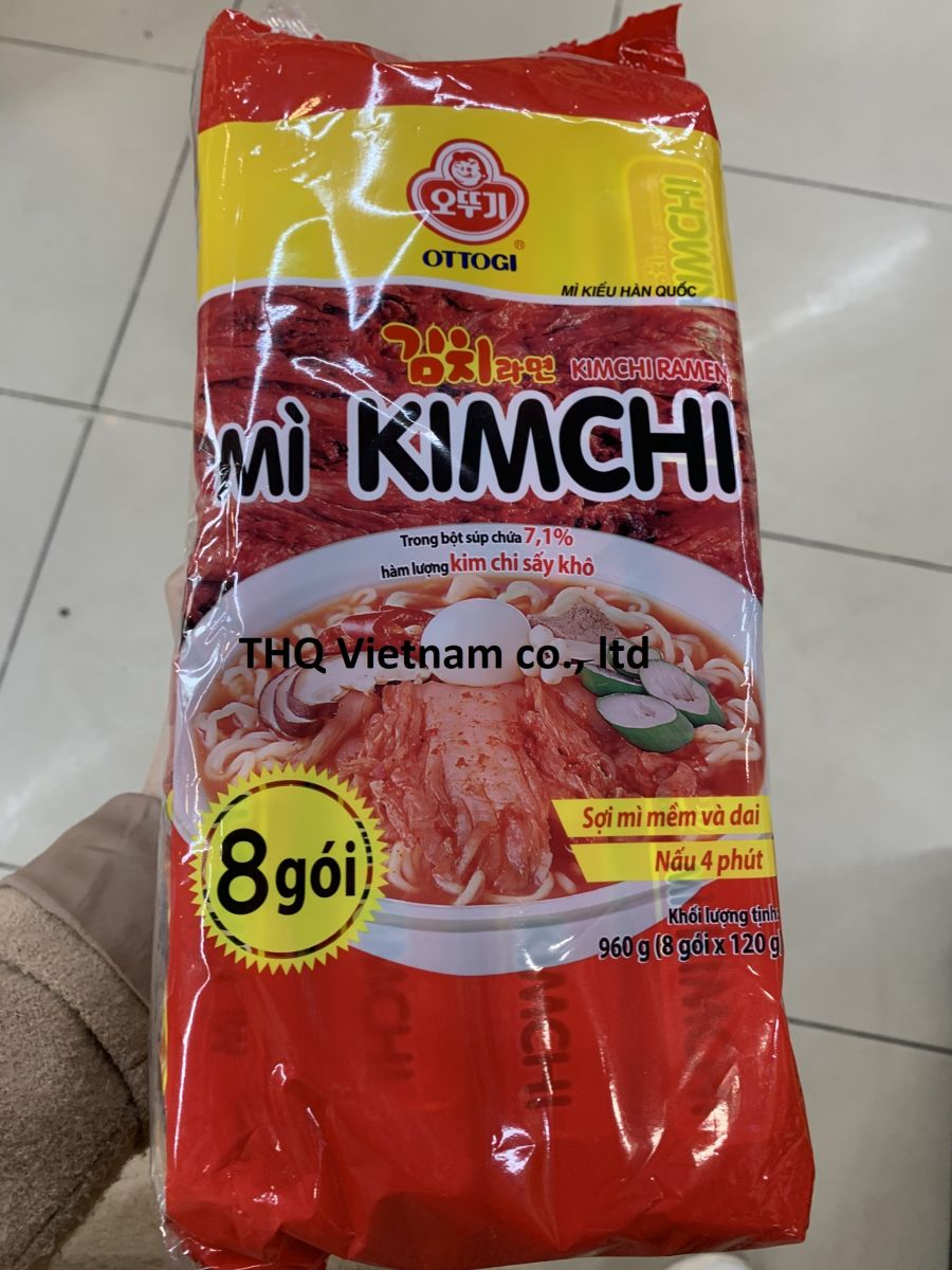 Ottogi instant noodle in pack