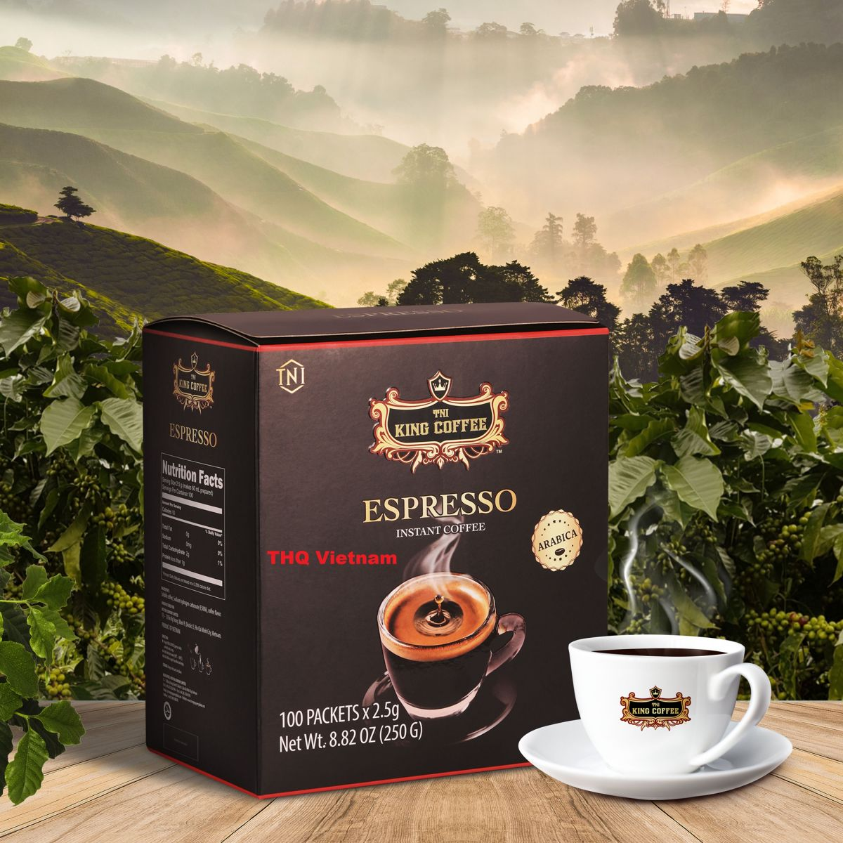 The King Instant Coffee - Espressco coffee