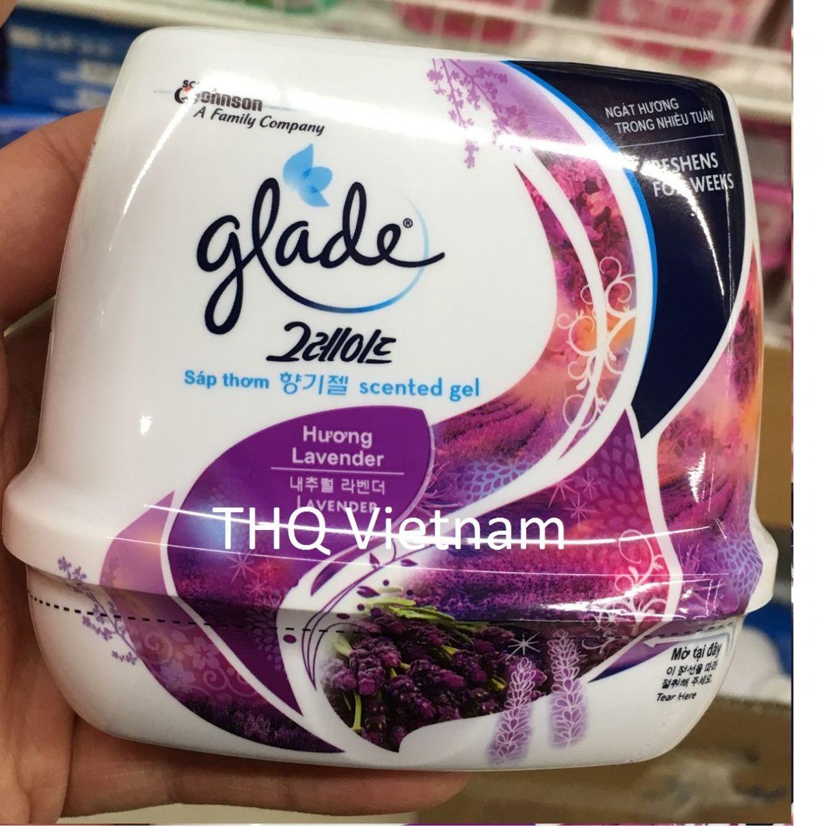 Glade Gel Lavender 180gr x 12 boxes