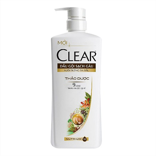 Clear Herbal Fusion Shampoo for Women 650g * 8 bottles