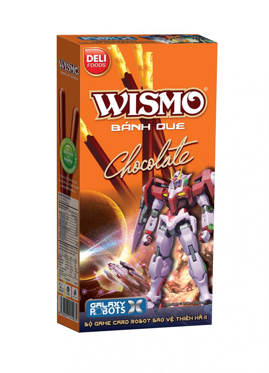 [THQ VIETNAM] Wismo Deli Cake stick biscuits 55G