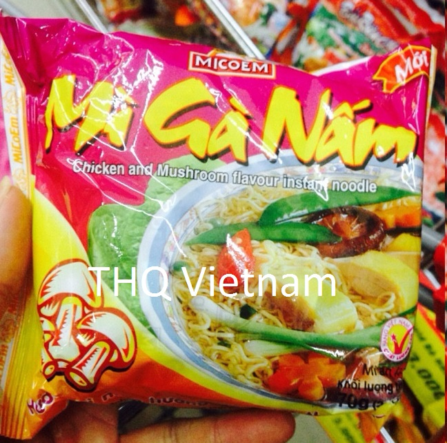 {THQ VIETNAM} Chicken & Mushroom Flavour Instant Noodle 70gr x 30 packs