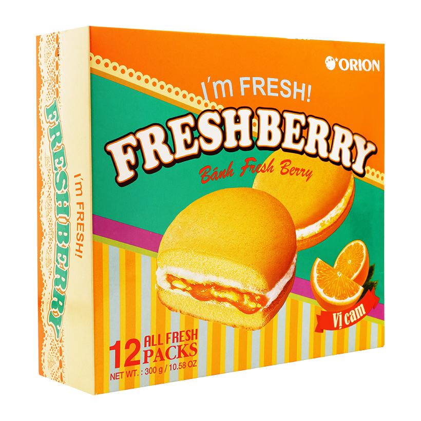 Orion Fresh Pie Various Flavor