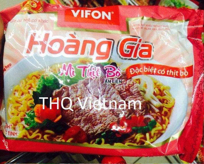 {THQ VIETNAM} Vifon Instant Noodle Beef 120gr x 18 packs