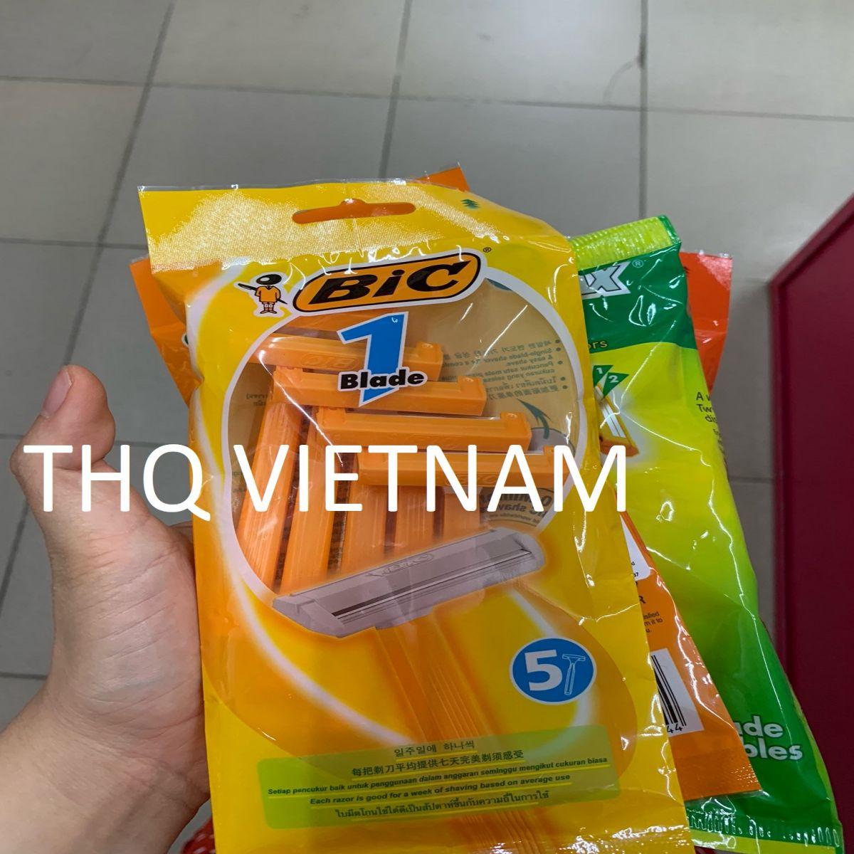 [THQ VIETNAM] BIC 1 blade razor x5