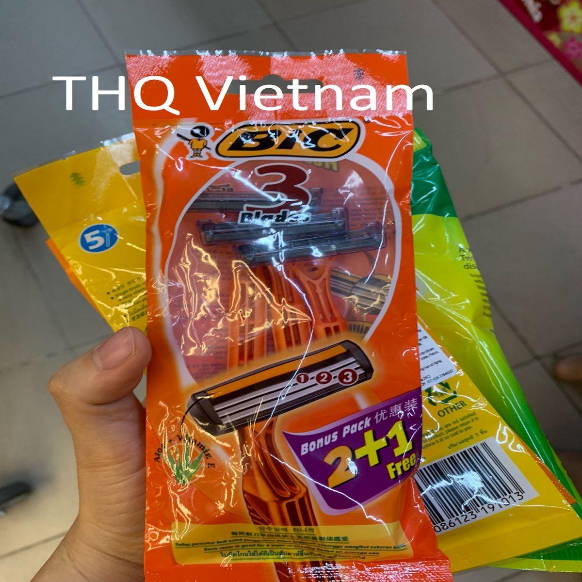 [THQ VIETNAM] BIC 3 blades