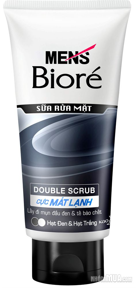 Biore Men Facial Foam White Energy 100g
