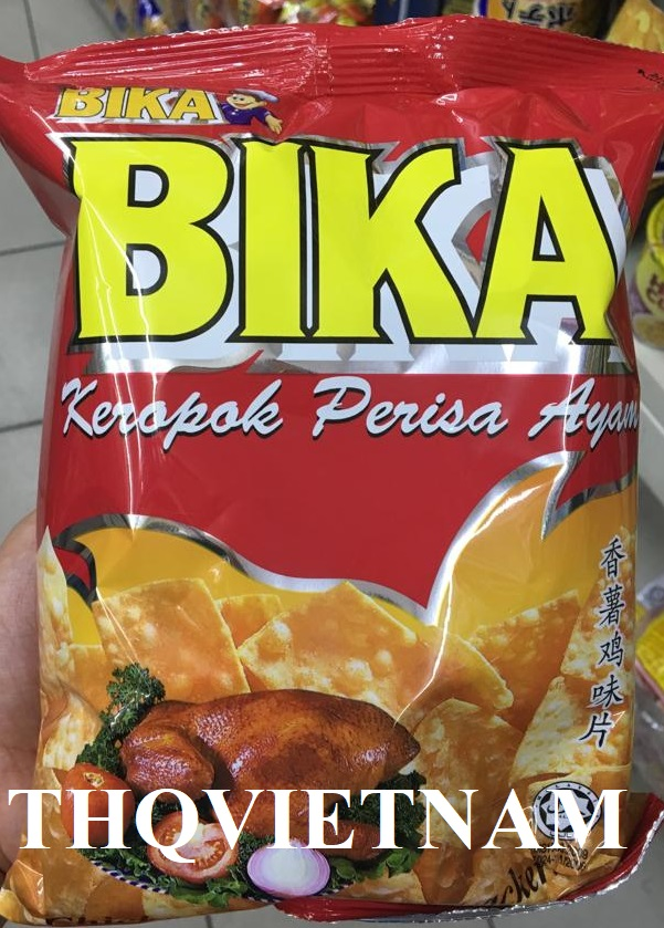 [THQVN] BIKA/ DOUBLE DECKER/ TWISTIES SNACK 60g