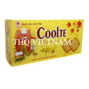 [THQ VIETNAM ] Cracker With Sesame and Coconut COOLTE 160 gr*20 BOXES