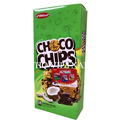 [THQ VIETNAM Cracker Choco Chip Coconut BIBICA 144g*20 boxes