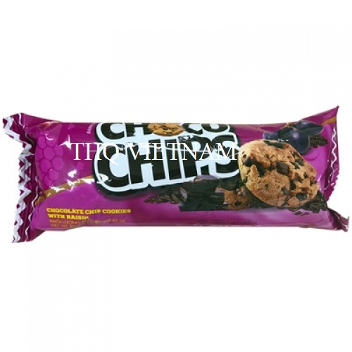 [THQ VIETNAM Cracker Choco Chip Grape BIBICA 80g*30 packs