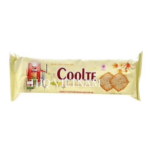 [THQ VIETNAM ] Cracker With Sesame and Coconut COOLTE 100 gr*40packs