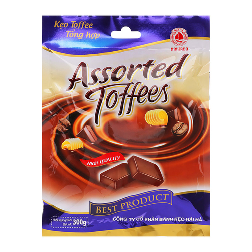 [THQ VIETNAM] Assorted Toffee Candy 350gr