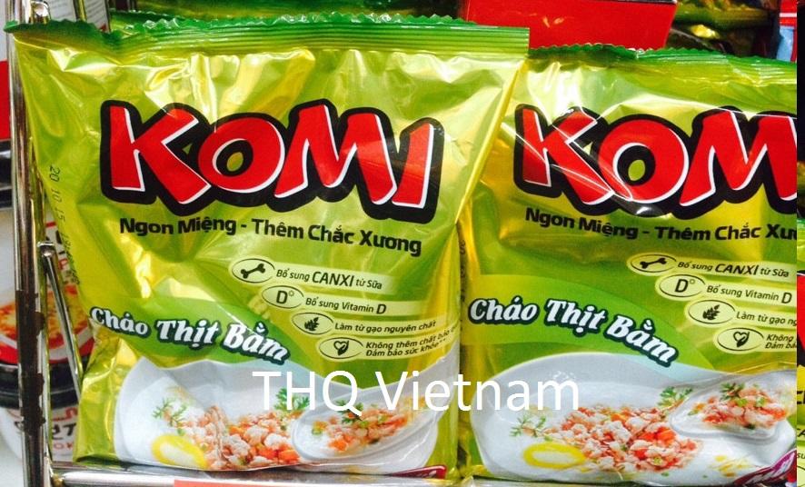 {THQ Vietnam} Komi Instant Porridge(Pork) 50gr x 50packs