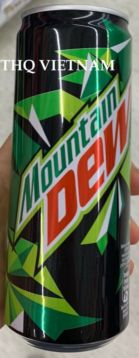 Mountain Dew 320ml - Carbonated Lemon Flavoured Drink