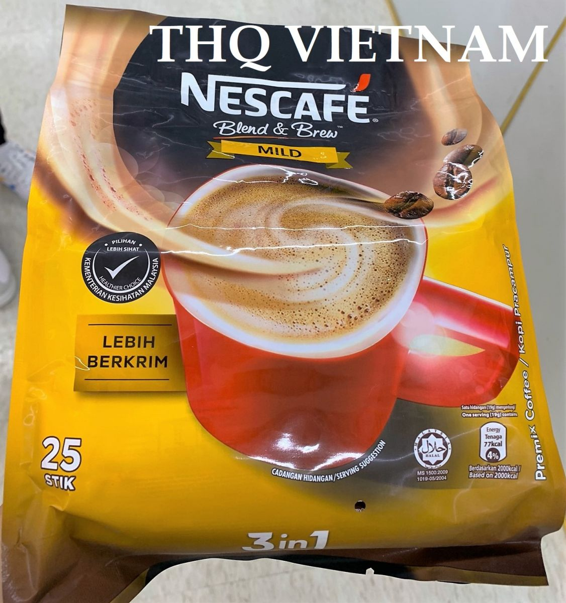 Nescafe 3in1 Blend&Brew; Mild/Rich 25Stik