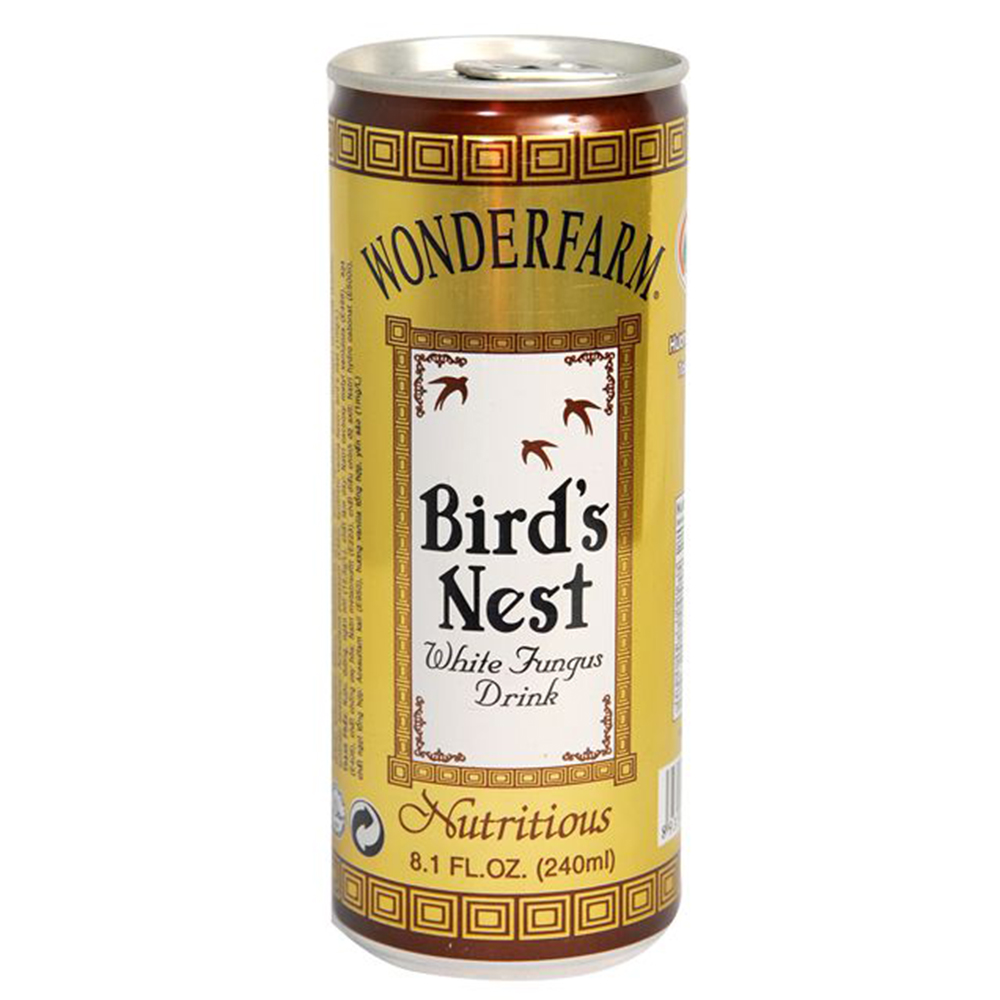 Wonderfarm  Bird's Nest White Fungus Drink 240ml x 24can