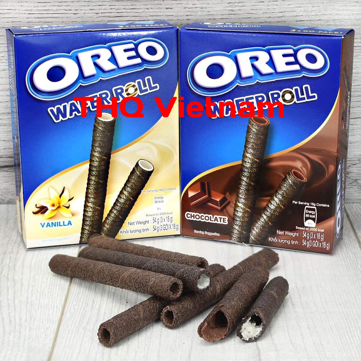 Oreo Wafer Roll 54g