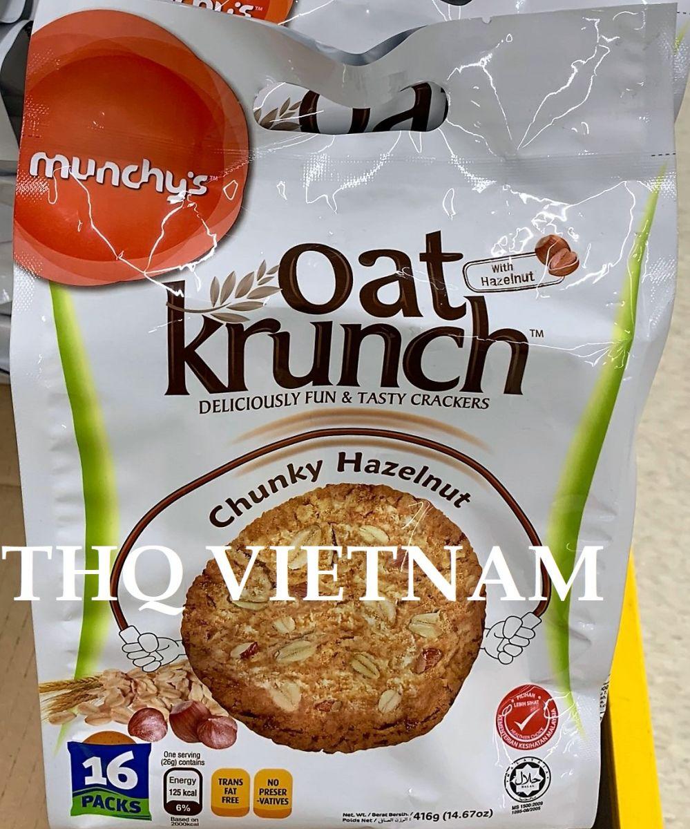 Munchy's Oat Krunch - Chunky Hazelnut 16packs