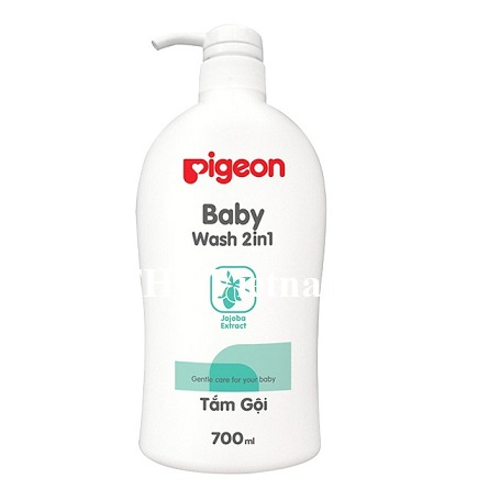 [THQ VIETNAM ] PIGEON BABY WASH 700ML X 24 BOTTLES