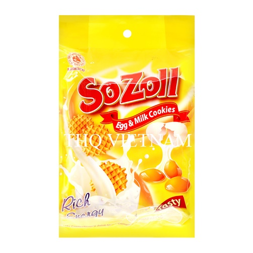 [THQ VIETNAM ] Egg and Milk Cookies SOZOLL 270Gr*15 Packs