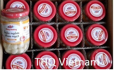 Song Huong Pickled Leek, 24 jars x 390gr