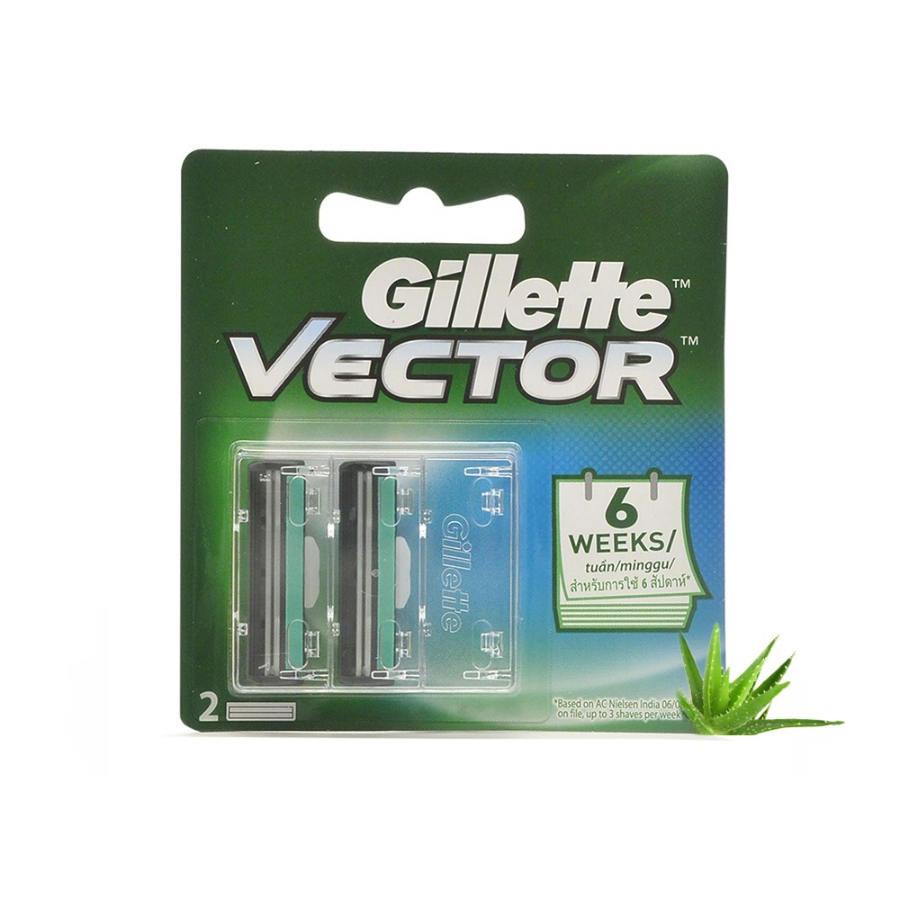 Gillete Vector Blade 144 pcs