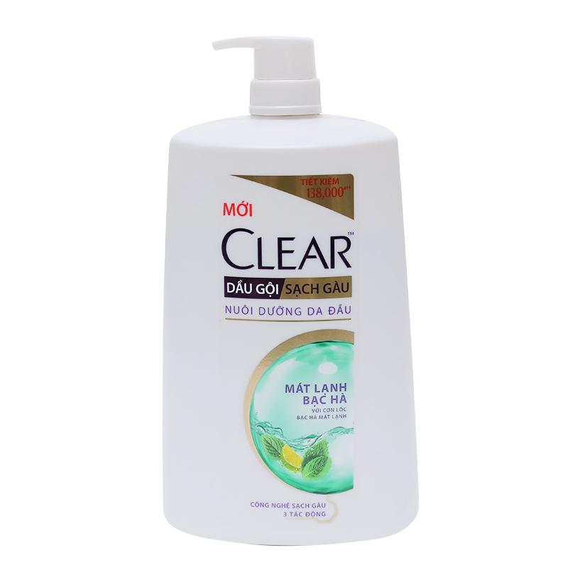 Clear Mint Shampoo for Women 1.4kg x 6 blts