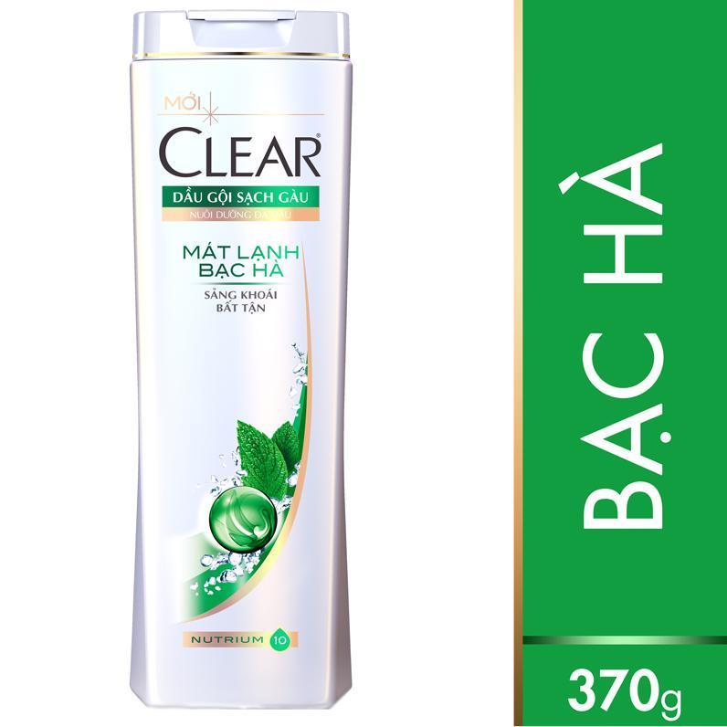 Clear Mint Shampoo for men 370g x 12 blts