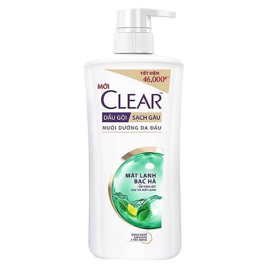 Clear Mint Shampoo for Women 650g x 8 blts