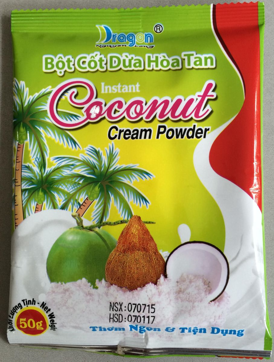 [THQ VIETNAM] COCONUT CREAM POWDER 50gr*100 packs