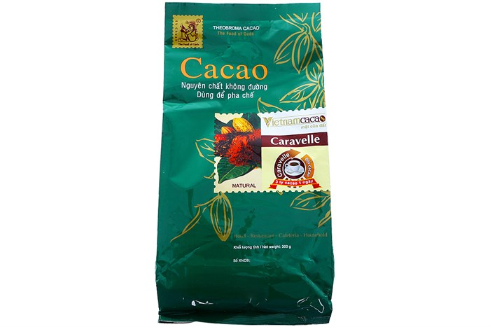 [THQ Vietnam] Natural Cocoa Powder Caravelle no Sugar 150Gr*30bags