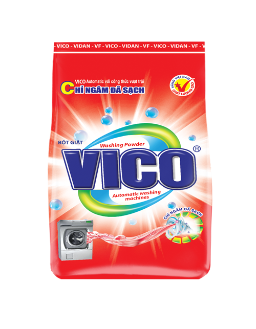 [THQ VIETNAM] VICO AUTOMATIC WASHING POWDER 3KG X 4 PACKS