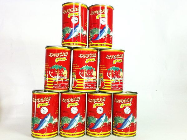 SARDINES IN TOMATO SAUCE 155GR X 100 CANS