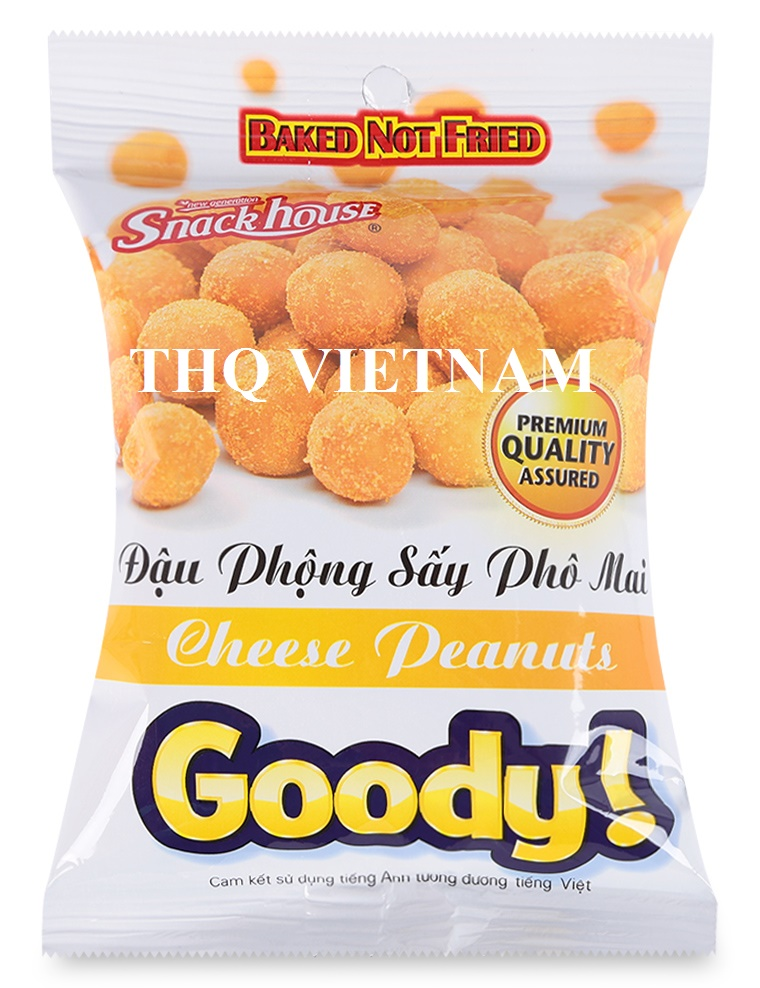 [THQ VIETNAM ] CHEESE PEANUTS 60gr*100 packs