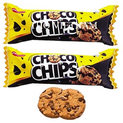 [THQ VIETNAM] Cracker Choco Chip Chocolate BIBICA 80g*30 packs