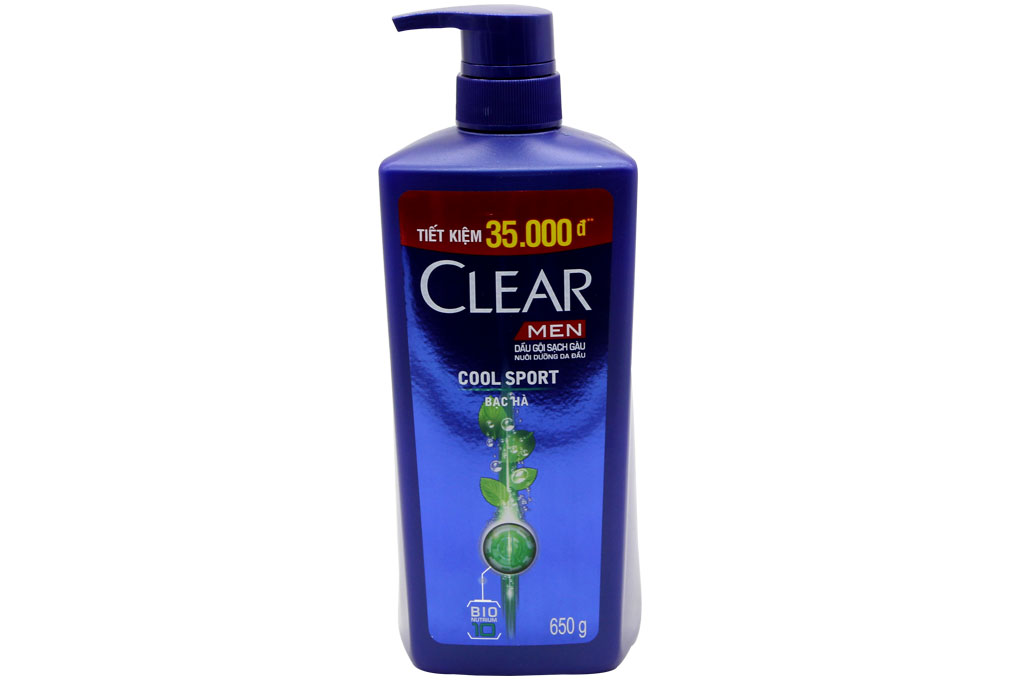 CLEAR MEN Shampoo COOL SPORT 650 gr