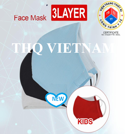 ANTI-BACTERIAL FACE MASK: CE & ISO certificate