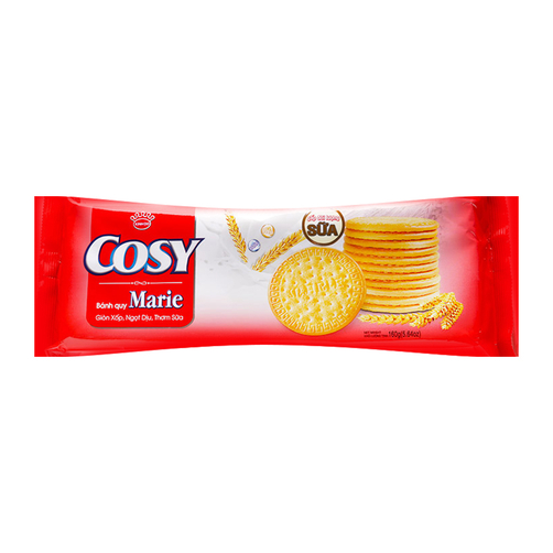 [THQ VIETNAM] Cozy Marie Milk Biscuit 160gr*24 packs
